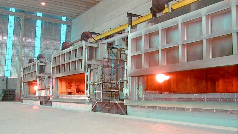 proceso de horno para bobinas
