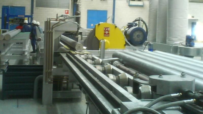 sierras de corte de aluminio