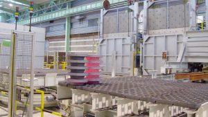 instalación para forja de hierro