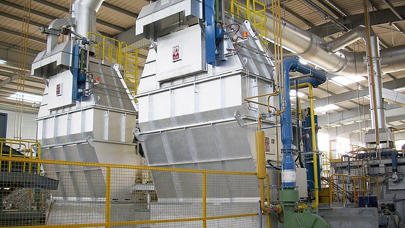 Instalación de Horno de torres fusoras