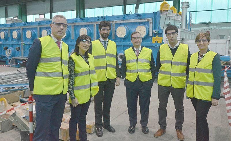 Visita a GHI Smart Furnaces de Arantxa Tapia y Aitor Urzelai