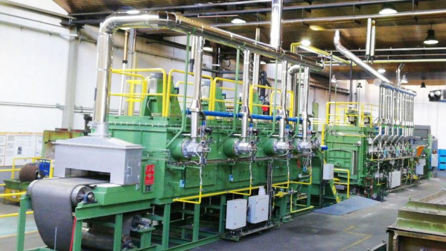 GHI Smart Furnaces starts up a new continuous heat treatment line for an automotive plant in Madrid