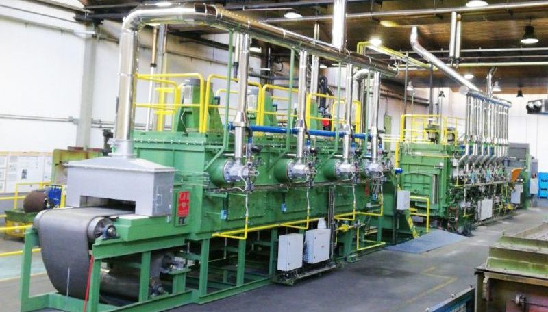 GHI pone en marcha una línea continua para carbonitruración y temple en una planta en Madrid