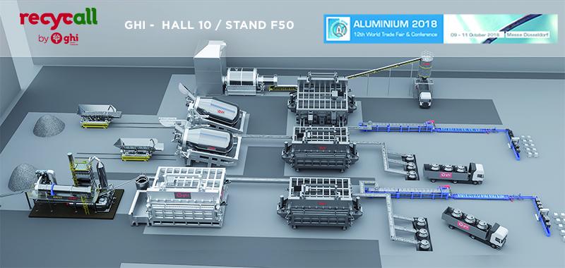 GHI Smart Furnaces, presente en la Feria Aluminium, con la colaboración de Icex y los Fondos Europeos Feder
