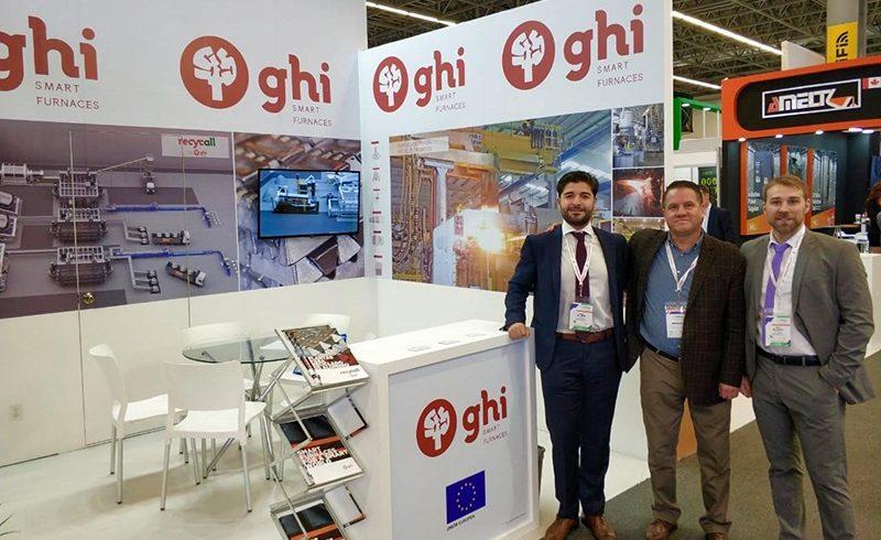 GHI Smart Furnaces presenta en la feria Fundiexpo (México) la planta para reciclaje de aluminio Recycall.