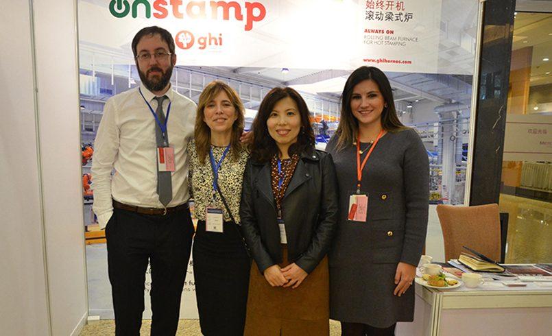 "GHI Smart Furnaces expone ""On Stamp"" en el Simposio ""Automotive Stamping Congress"" celebrado en Shangai"