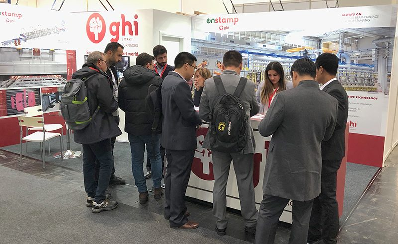Successful presence of GHI Smart Furnaces at the Euroblech.