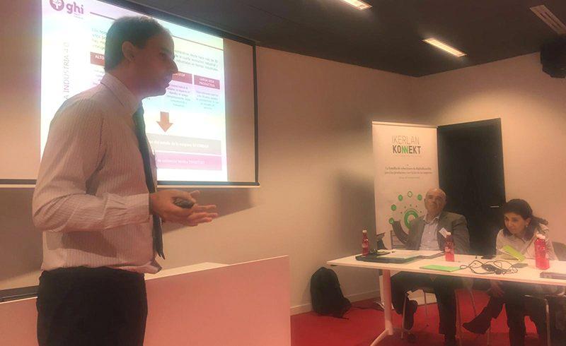 """GHI presenta su experiencia internacional en la jornada organizada por Ikerlan sobre """"el Servicio Posventa como oportunidad de negocio"""""""