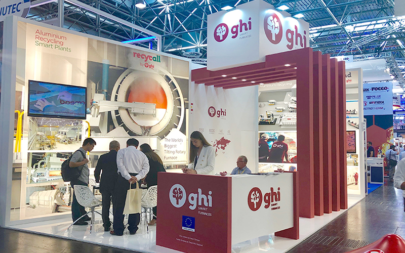 Countless attendances at the GHI stand at Thermprocess (GIFA) in Dusseldorf