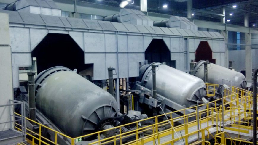 Smart plant for aluminium recycling in Germany