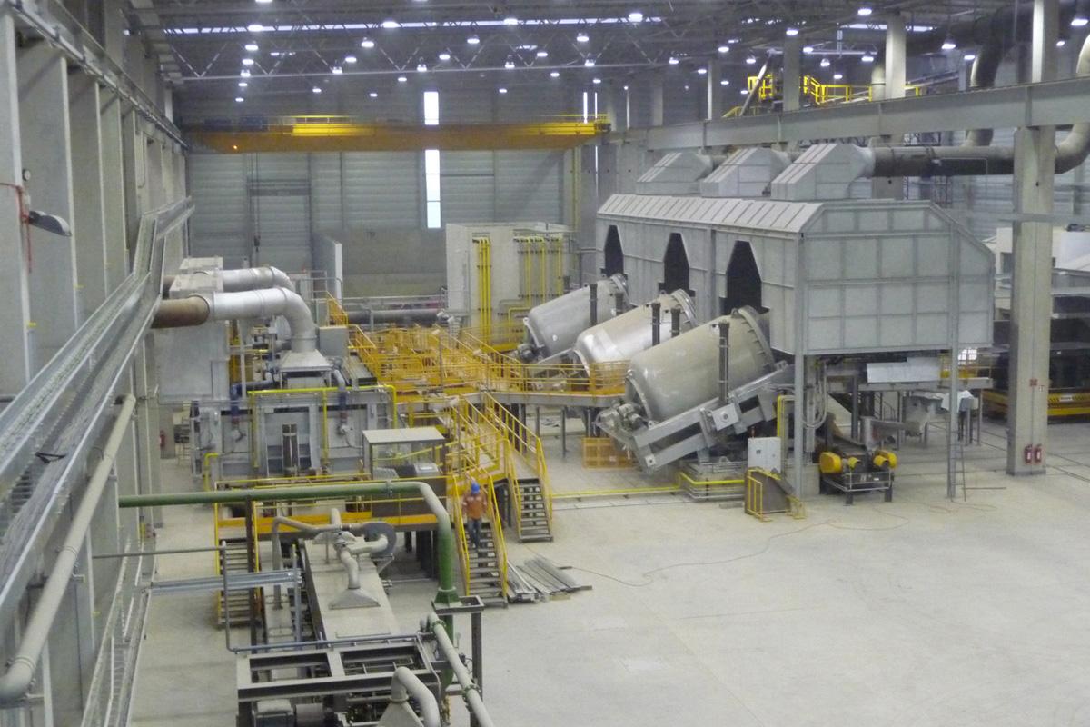 El horno rotativo más grande del mundo
