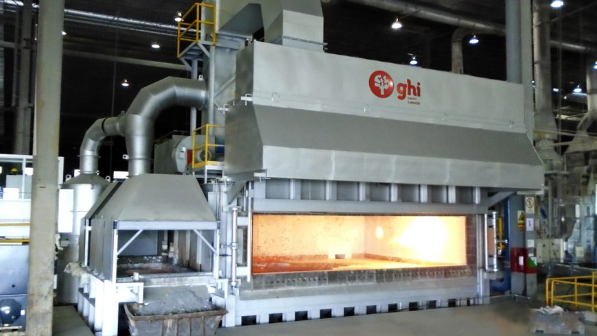 Electromagnetic Vortex and Rotary Tilting Furnace of 50 t for Fracsa, Mexico