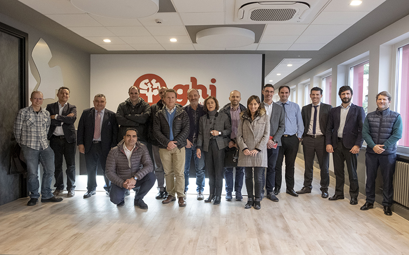 GHI, Smart Furnaces, host of the TOP Business Meetings organized by CEBEK