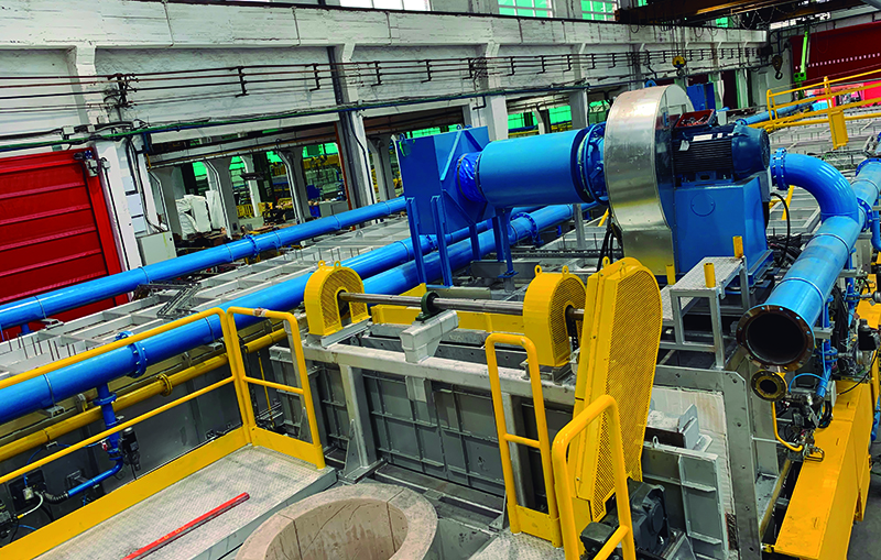 GHI will inaugurate in Sidenor Basauri two lines for heat treatment of steel bars, 130m long, high flexibility and 4.0 connectivity.