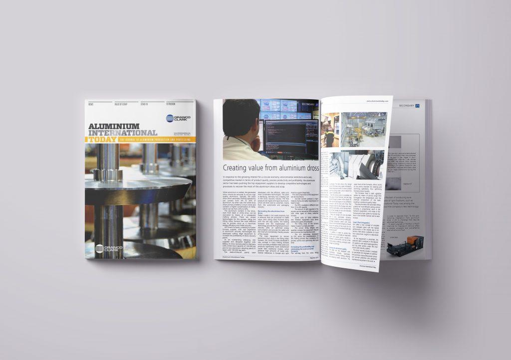 GHI SMART FURNACES in der Zeitschrift Aluminium International Today