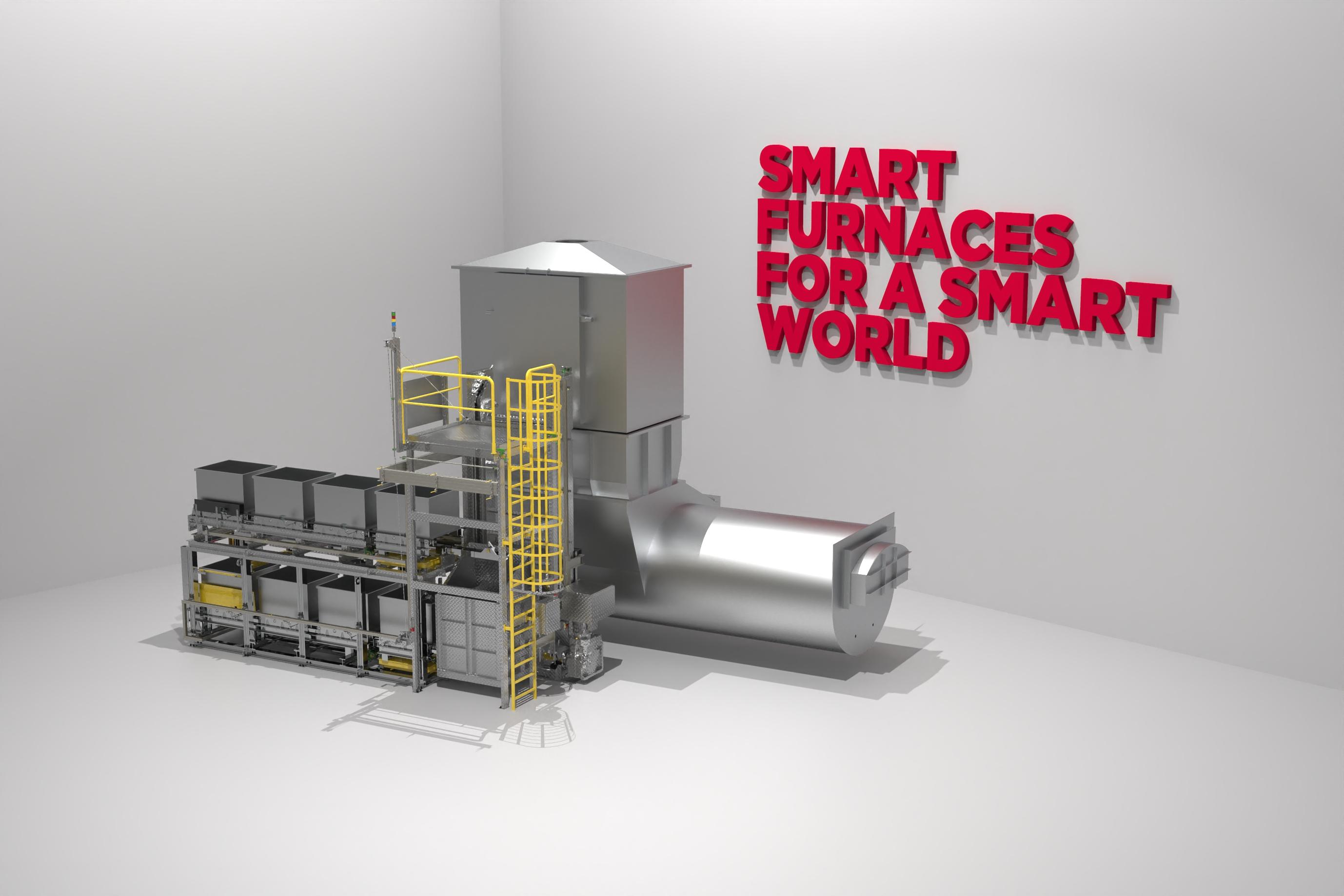 Torre fusora con horno mantenedor integrado GHI