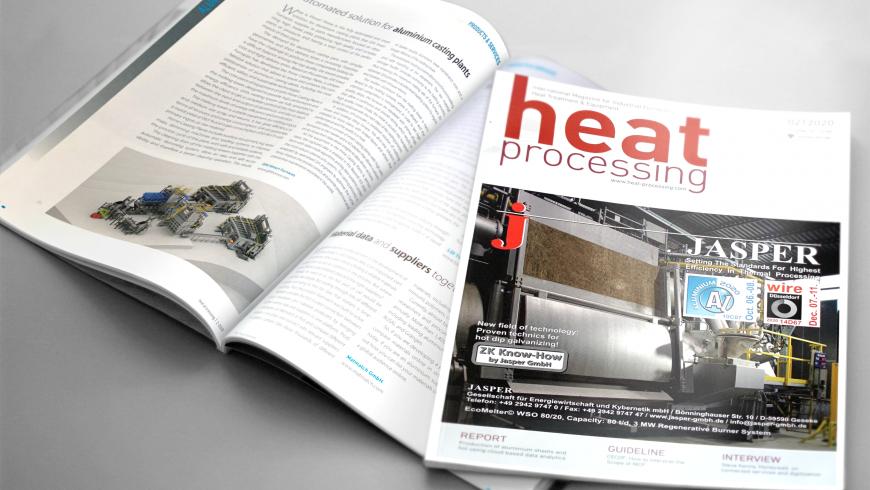 Las plantas para fundición de aluminio PRIME, de GHI, en la revista Heat Processing