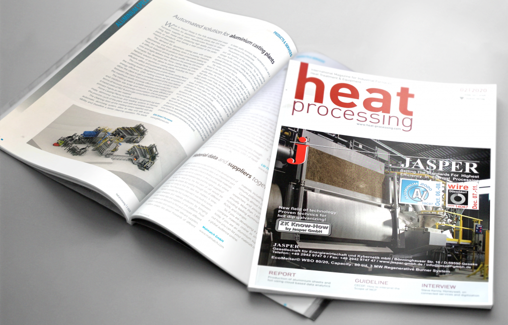 Prime casting plants by GHI in the Heat Processing Magazine