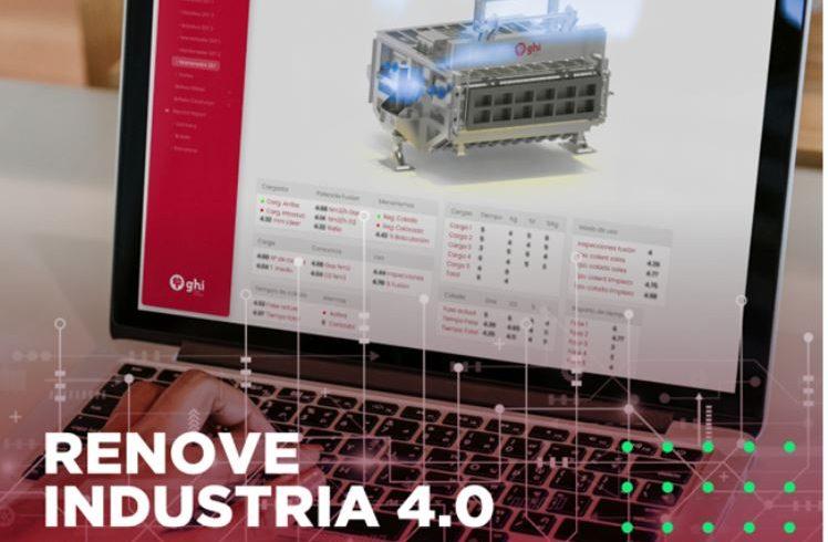 Subvención Renove Industria 4.0 para la digitalización de su planta y sensorización avanzada