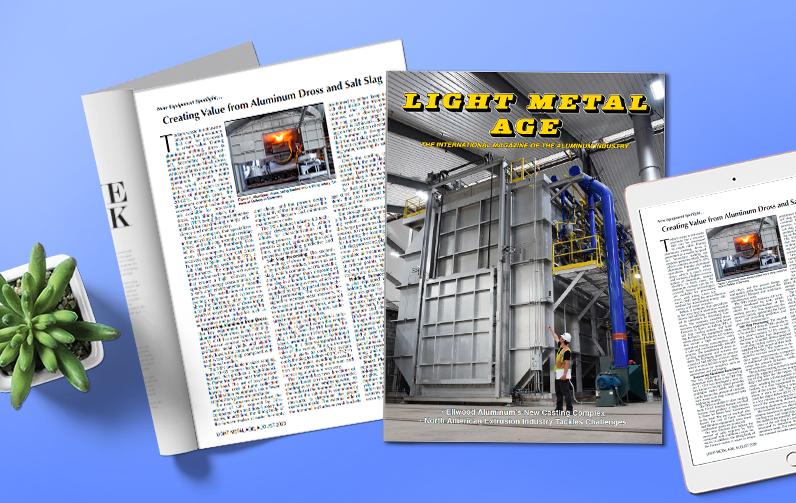 Las plantas de reciclado de aluminio de GHI en Light Metal Age