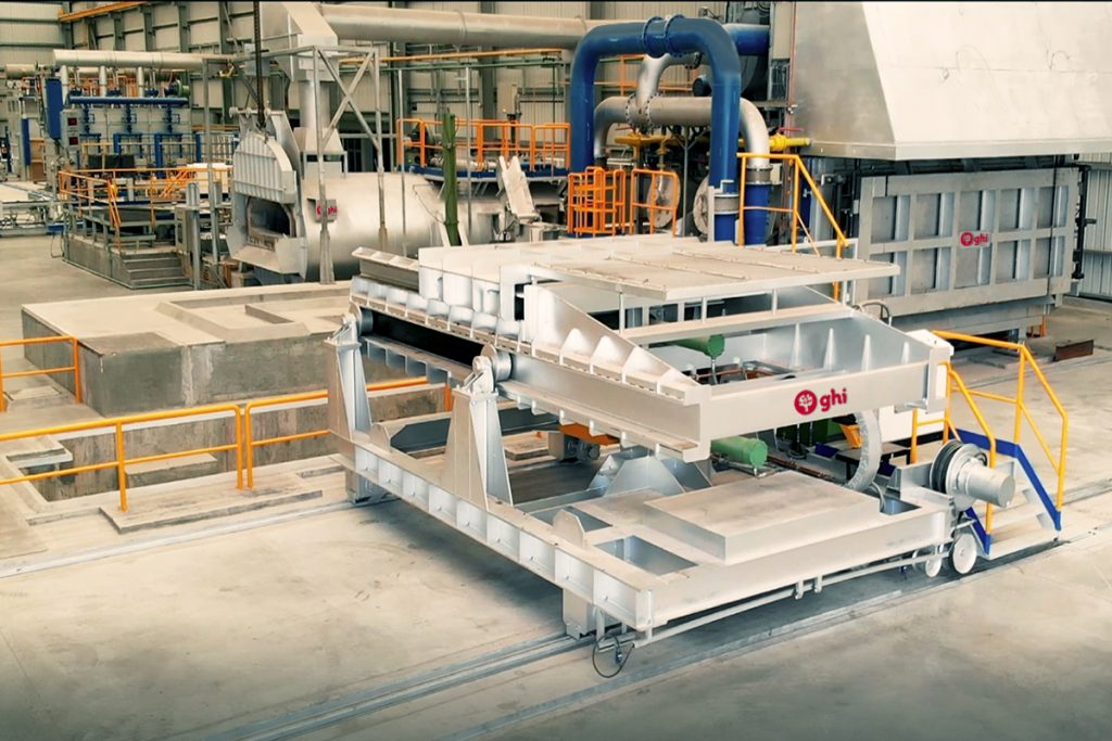 New aluminium billet manufacturing plant in Mexico supplied by GHI