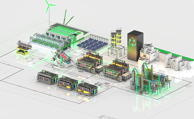 GHI presenta la Planta del Futuro para Reciclado de Aluminio